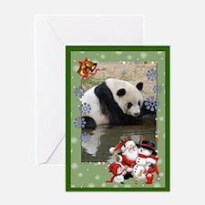 Panda bear christmas greeting cards card ideas sayings for Giant christmas card ideas