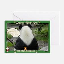 Giant Panda Bear Greeting Card