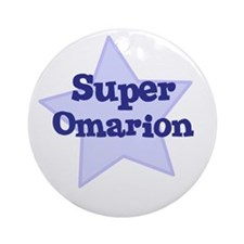 Super Omarion Ornament (Round)