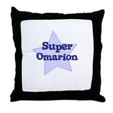 Super Omarion Throw Pillow