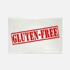 Gluten Free Stamp Rectangle Magnet
