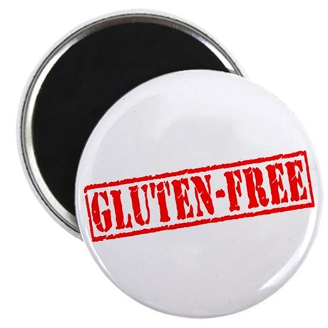 "Gluten Free Stamp 2.25"" Magnet (100 pack)"