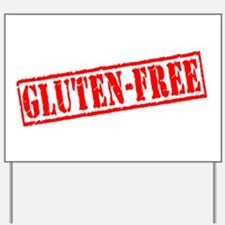 Gluten Free Stamp Yard Sign