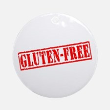 Gluten Free Stamp Ornament (Round)