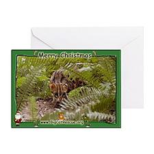 Bengal Cat 003 Greeting Card