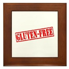 Gluten Free Stamp Framed Tile