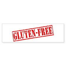 Gluten Free Stamp Bumper Bumper Sticker