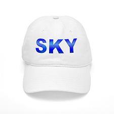 Blue SKYBaseball Cap