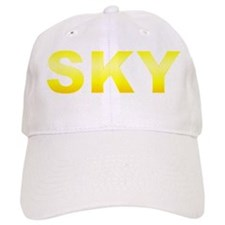 Sunburst Yellow SKY Baseball Cap
