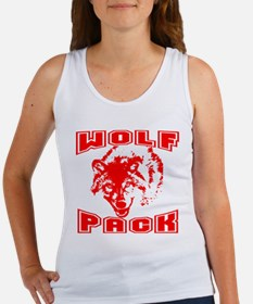 Wolf Pack ~ Red Women's Tank Top