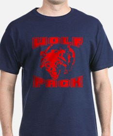 Wolf Pack ~ Red T-Shirt