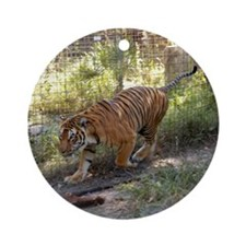 Bengal Tiger Ornament (Round)