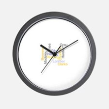 Cute Simon grayson Wall Clock