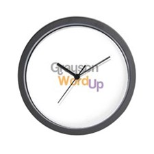 Unique Simon grayson Wall Clock