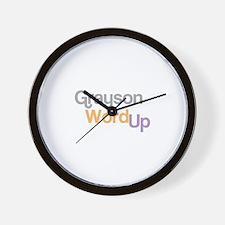 Unique Simon grayson Wall Clock
