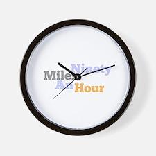 Simon grayson Wall Clock