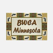 BWCA Loon Rectangle Magnet