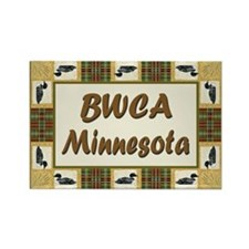 BWCA Loon Rectangle Magnet (100 pack)