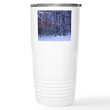 Winter Serenity Ceramic Travel Mug