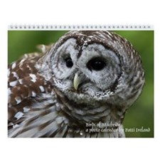 Birds of MacBride Wall Calendar