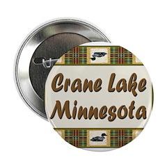 "Crane Lake Loon 2.25"" Button (10 pack)"