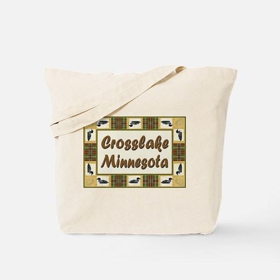 Crosslake Loon Tote Bag