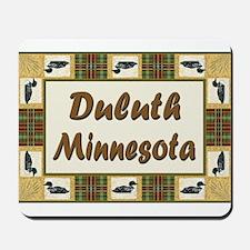 Duluth Loon Mousepad