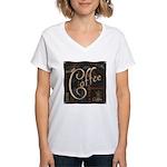 Coffee Mocha Women's V-Neck T-Shirt