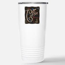 Coffee Mocha Stainless Steel Travel Mug