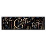 Coffee Mocha Bumper Sticker