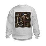 Coffee Mocha Kids Sweatshirt