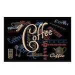 Coffee Mocha Postcards (Package of 8)