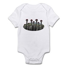 Cute The crane Infant Bodysuit
