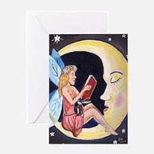 Cute Bedtime book sleep Greeting Card