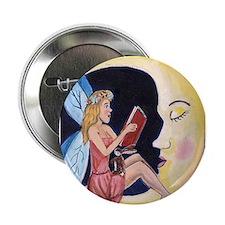 """Cute Bedtime book sleep 2.25"""" Button"""