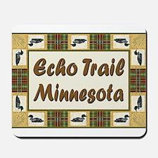Echo Trail Loon Mousepad