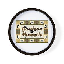 Garrison Loon Wall Clock