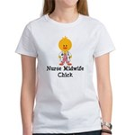 Nurse Midwife Chick Women's T-Shirt
