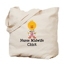 Nurse Midwife Chick Tote Bag