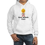 Nurse Midwife Chick Hooded Sweatshirt