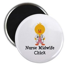 Nurse Midwife Chick Magnet