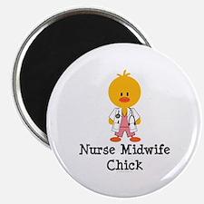 Nurse Midwife Chick Magnet