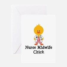 Nurse Midwife Chick Greeting Card
