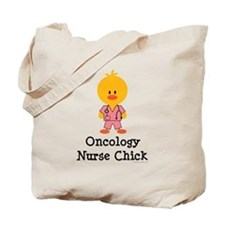 Oncology Nurse Chick Tote Bag