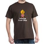 Oncology Nurse Chick Dark T-Shirt