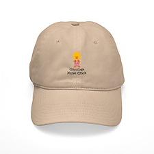 Oncology Nurse Chick Baseball Cap
