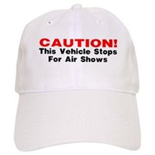 CAUTION-This vehicle stops fo Baseball Cap