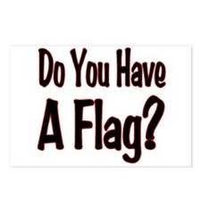 Have a Flag? Postcards (Package of 8)