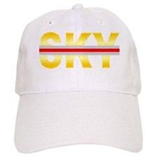 SunBurst Yellow SKY Redline Baseball Cap