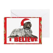 Wirehaired Pointing Griffon S Greeting Card